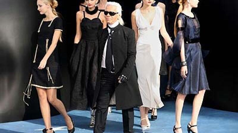 Karl Lagerfeld saptamana modei paris