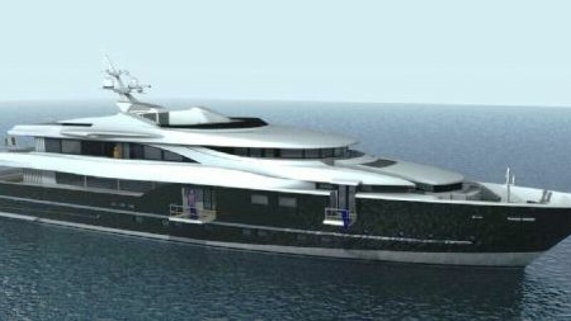 Yacht de 50.000.000 de dolari, vandut la salonul de la Genova