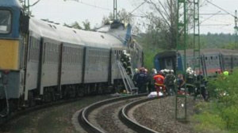 Accident feroviar in Ungaria