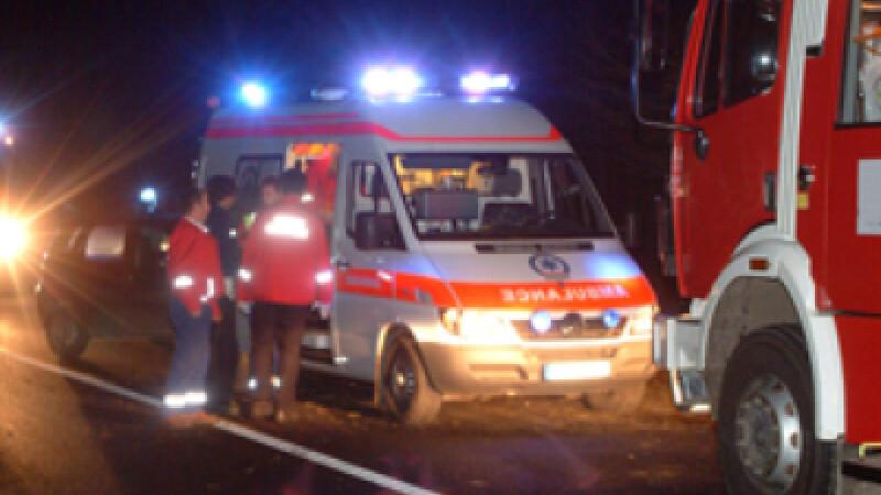 Ranitul a fost transportat de urgenta la spital