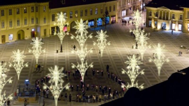 Primaria din Sibiu incepe pregatirile pentru sarbatorile de iarna