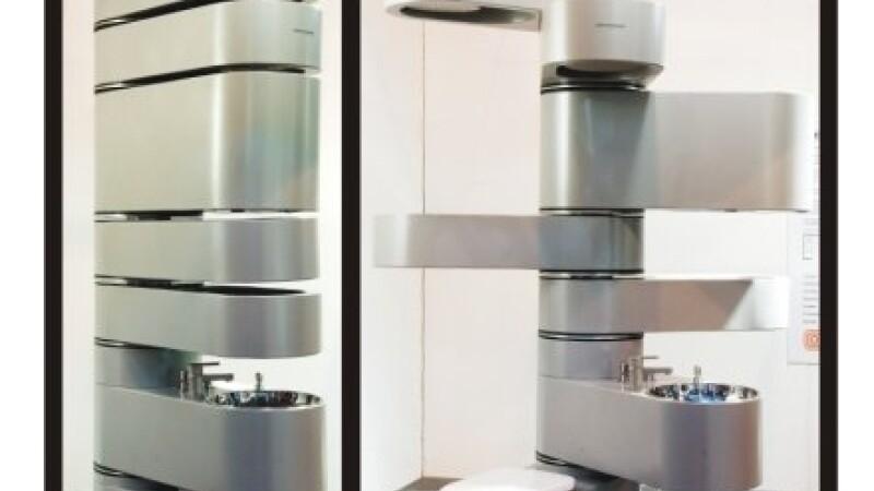 Baia pe verticala, noua solutie pentru apartamentele mici