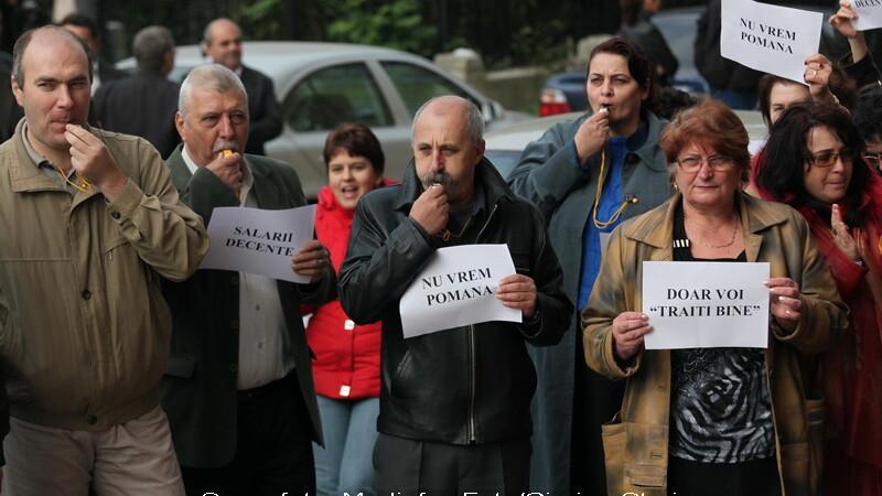 proteste Buzau