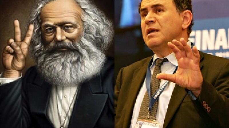 Marx si Roubini