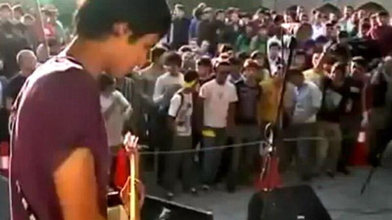 Concert rock in Afganistan
