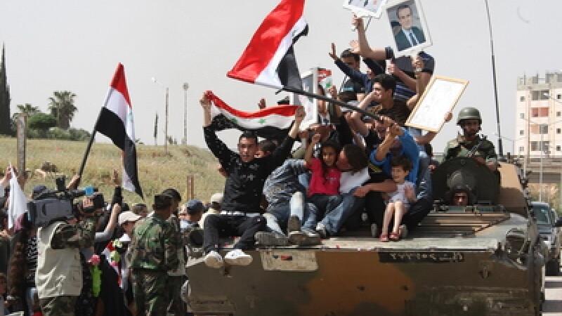 Conflictul din Siria atinge si Europa. Frontiera cu Turcia, incalcata de armata siriana