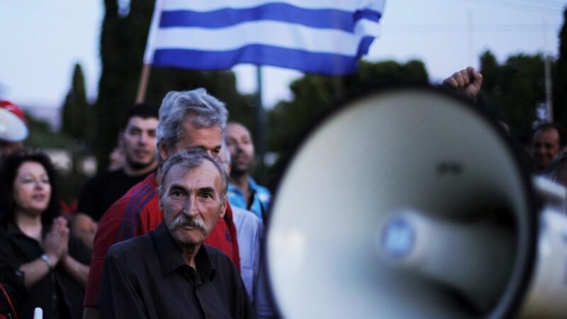 Protest Atena