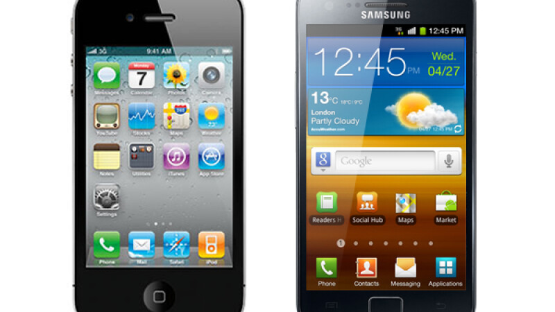 Samsung Galasy S II & iPhone 4