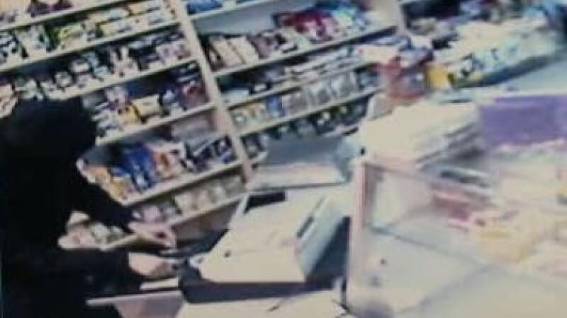 Jaf armat intr-un magazin din Timisoara