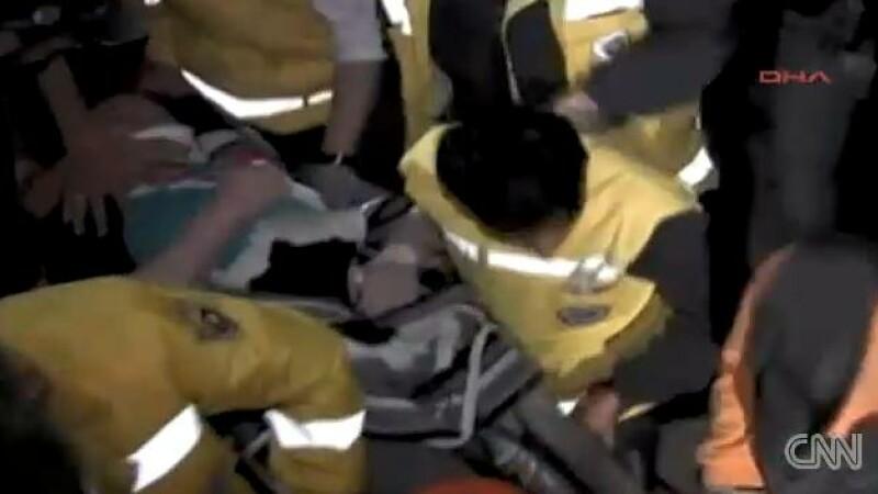 Ultimul bilant oficial: cel putin 366 de morti si 1.300 de raniti in urma cutremurului din Turcia