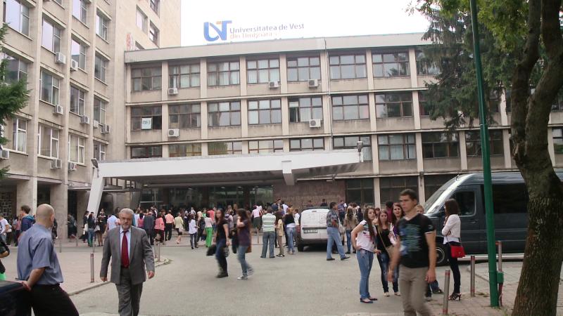 deschidere universitatea de vest timisoara