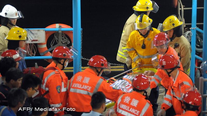 Hong Kong accident feribot