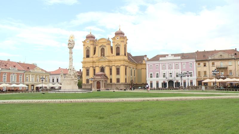 monument piata unirii timisoara