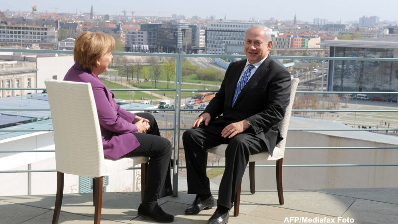 Benjamin Netanyahu, Angela Merkel