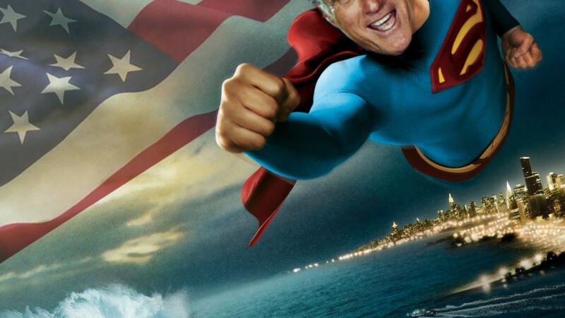 Mitt Romney Superman