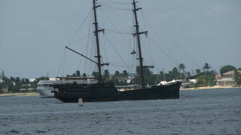 vapor al piratilor