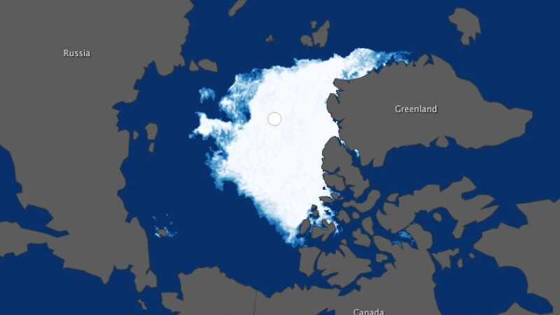 Gheata Polul Nord