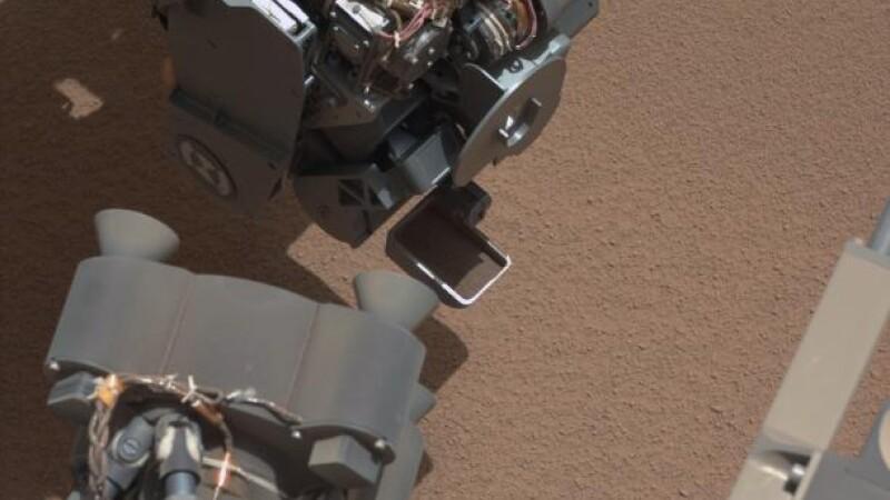 obiect gasit de Curiosity pe Marte