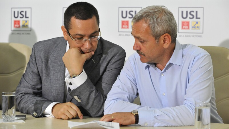 Liviu Dragnea, Victor Ponta