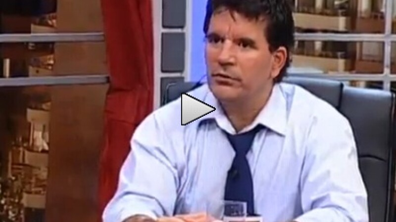jurnalist tv la o emisiune