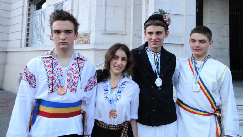 romani, medalii Olimpiada de stiinte ale pamantului