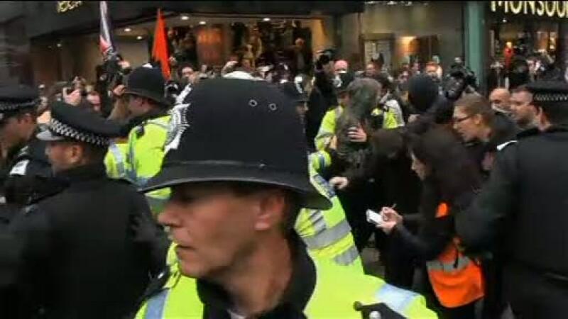 Mii de londonezi, in strada, la chemarea sindicatelor. Au protestat contra politicii de austeritate