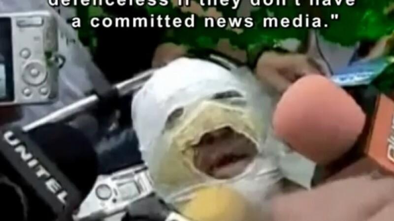 jurnalistul Fernando Vidal ranit