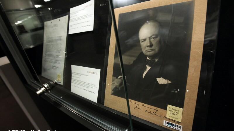 Anglia aproape a renuntat la figura lui Churchill de pe o bancnota, ca sa nu-i enerveze pe nemti