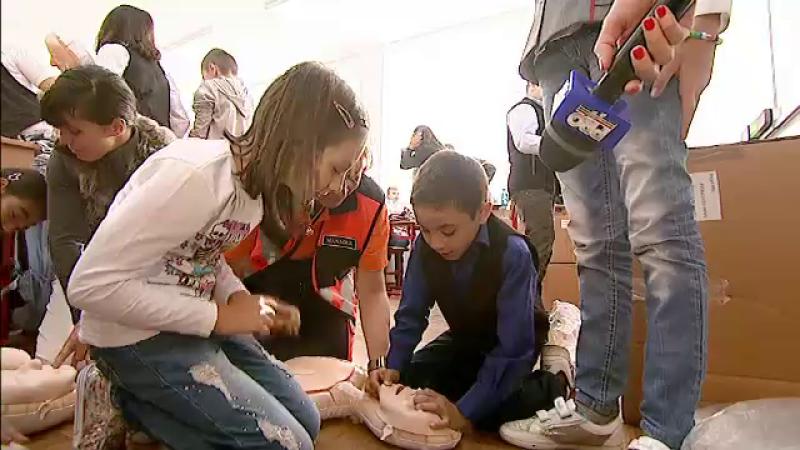 curs de prim ajutor in scoli, elevi