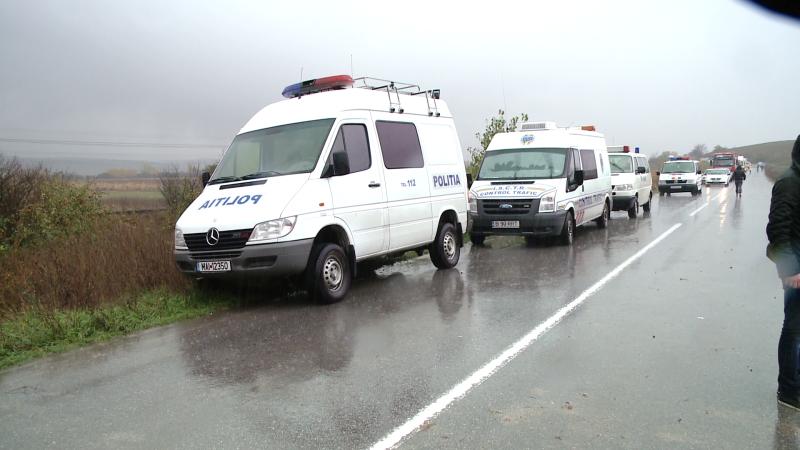 masini de politie, accident