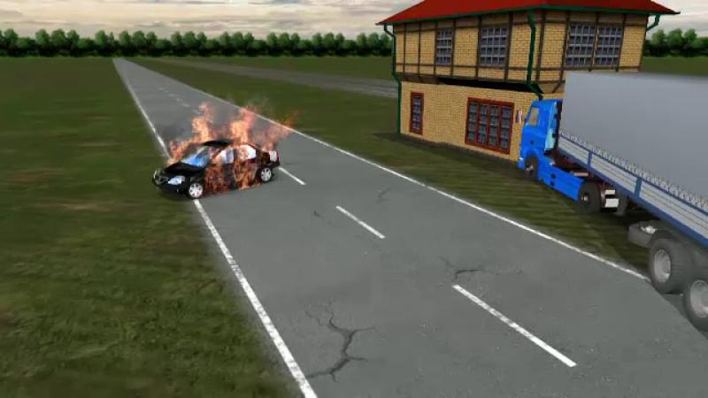 Doua persoane au murit, dupa ce o masina a fost lovita de un TIR pe centura Capitalei