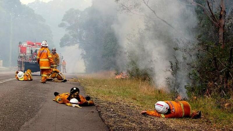 pompieri, Australia