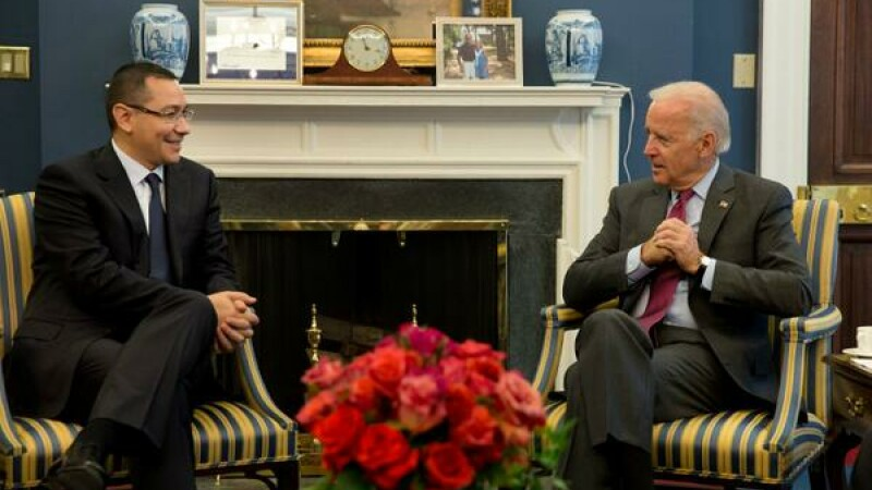 Victor Ponta, Joe Biden