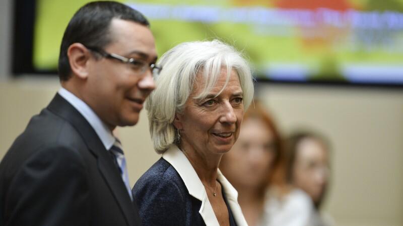 Christine Lagarde, Victor Ponta