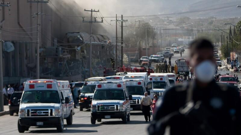 explozie Ciudad Juarez