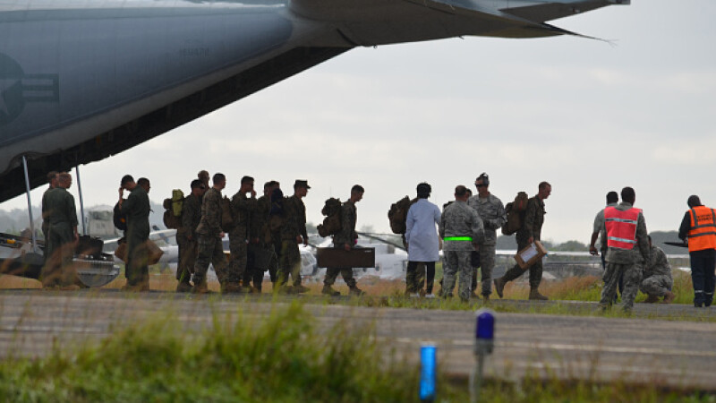 soldati americani ebola