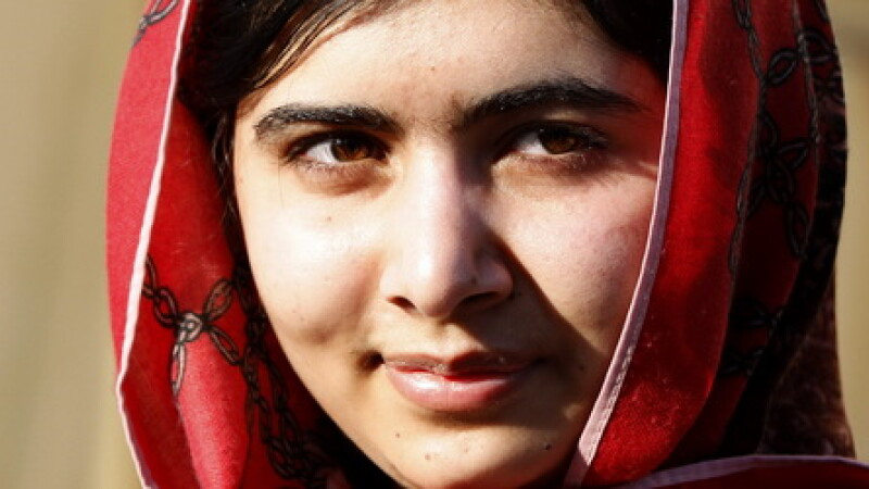 Malala Yousafzai cover