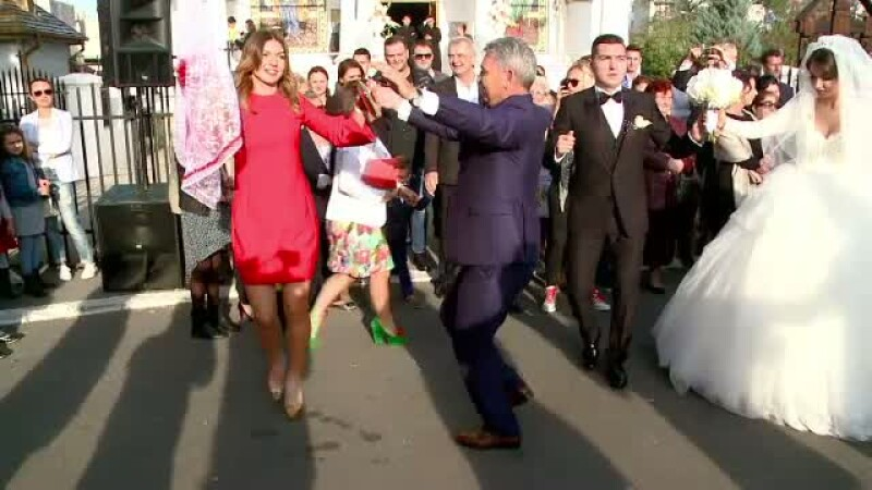 Halep la nunta fratelui