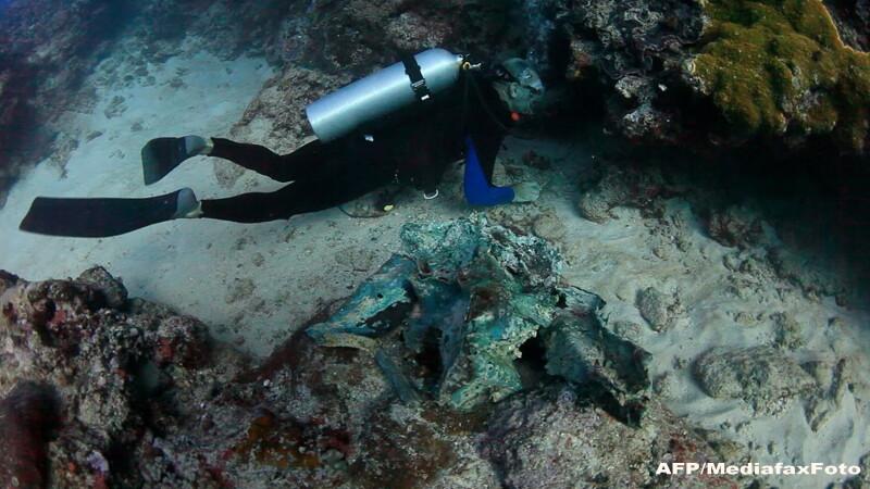 Misterele corabiei din Antikythera. Ce au gasit scafandrii pe