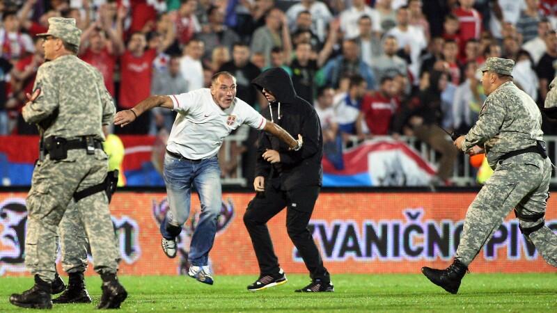 Serbia Albania scandal