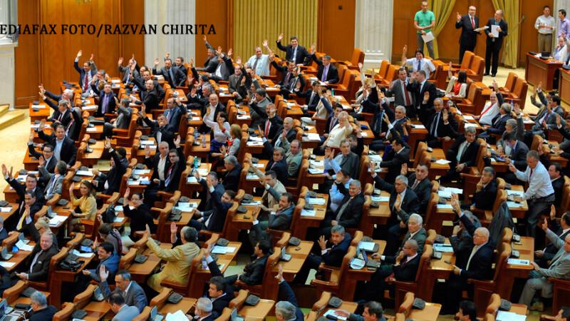 Parlamentul Romaniei, vot