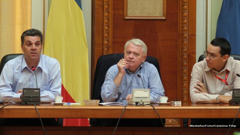 Valeriu Zgonea, Viorel Hrebenciuc, Victor Ponta