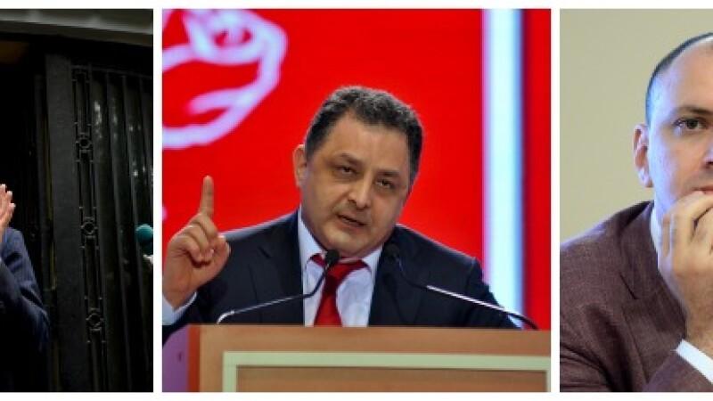 Criza in PSD. Ce functii ocupau in partid Sova, Vanghelie si Ghita, cei pe care Victor Ponta