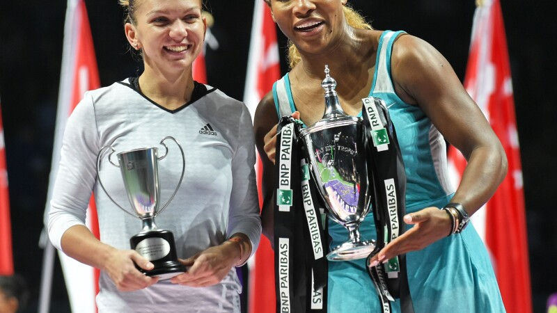 Simona Halep, Serena Williams