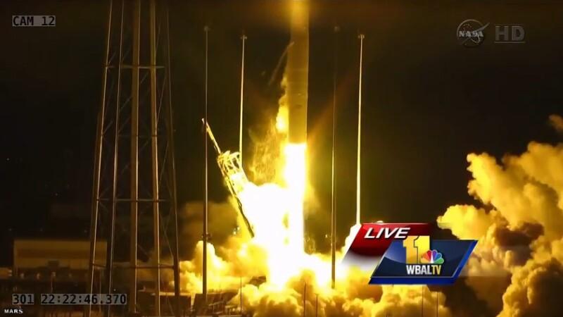O racheta cu destinatia Statia Spatiala Internationala a explodat in aer. Pagubele, insemnate: ce transporta NASA. VIDEO