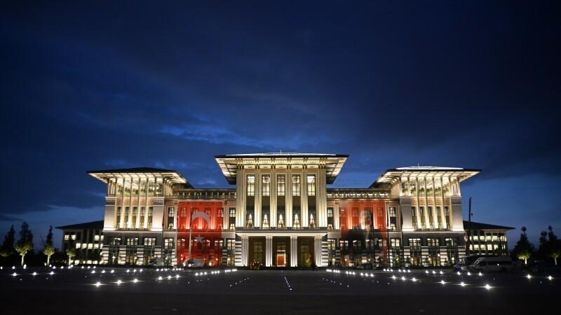 Turcia are unul dintre cele mai impunatoare palate prezidentiale din lume. A costat aproape 350 de milioane de dolari. FOTO