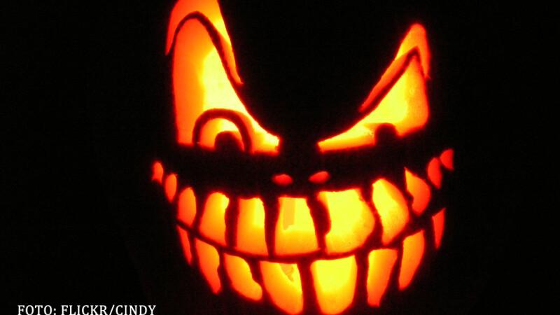 dovleac de Halloween inspaimantator