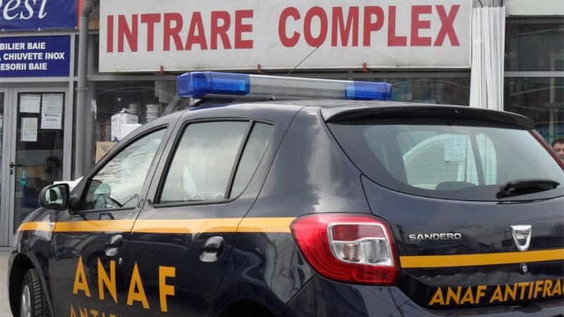 inspectie ANAF intr-un centru comercial