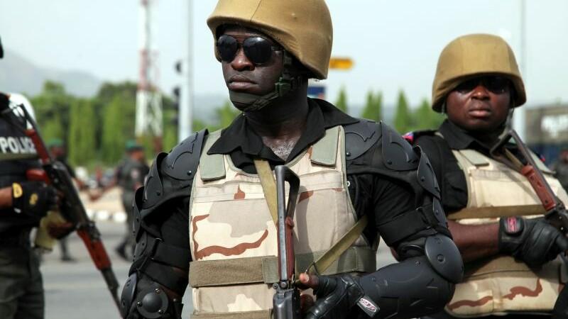 Politia din Nigeria