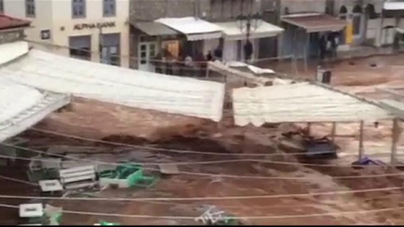 inundatii Grecia